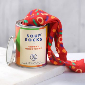 Chunky Minestrone Soup Socks