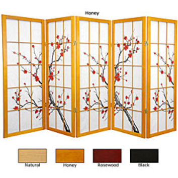 Best Wood Room Divider Products On Wanelo - Cherry blossom room divider screen