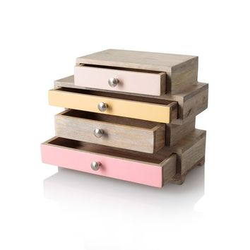 Betsy Four Drawer Jewellery Box | Oliver Bonas