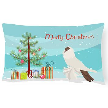German Helmet Pigeon Christmas Canvas Fabric Decorative Pillow BB9311PW1216