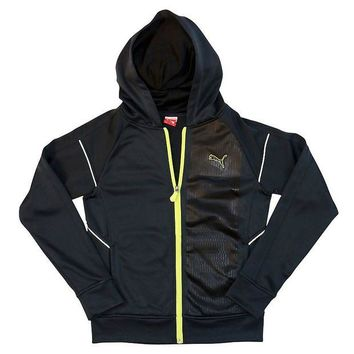 DCCKX8J PUMA French-Terry Full-Zip Hoodie - Boys 8-20 Size