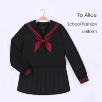 To Alice J019- jk uniforms orthodox black body red shirt three sailorsypposlppmlg from English Agent:BuyChina.com