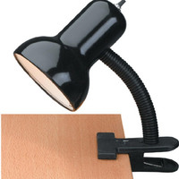 0-004318>Clip-on Desk Lamp Gloss Black
