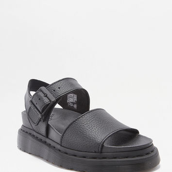 Dr. Martens Romi Black Strap Sandals | Urban Outfitters