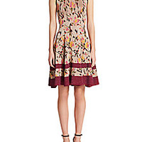 Missoni - Metallic Floral Knit Dress - Saks Fifth Avenue Mobile