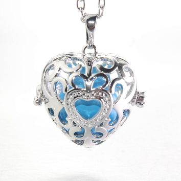 Love harmony bola pregnancy  Mexico women/baby necklace hallow out jewelry colorful angel  chime  040723