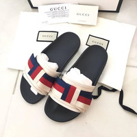 shosouvenir  Gucci Casual Fashion Women Sandal Slipper Shoes