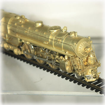 Sunset Models HO Brass Engine & Tender 4-6-4 #5404 J Model Hudson