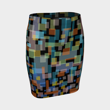 New York Fitted Skirt