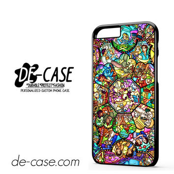 Disney Characters Stained Glass For Iphone 6 Iphone 6S Iphone 6 Plus Iphone 6S Plus Case Phone Case Gift Present YO