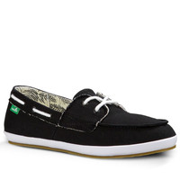 Sanuk Sailaway 2 Fray Black Shoes