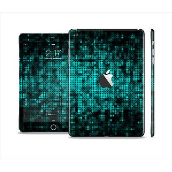 The Glowing Digital Green Dots Full Body Skin Set for the Apple iPad Mini 2