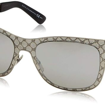 Gucci Women's Patterned Metal Sunglasses