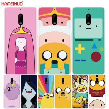 HAMEINUO Adventure Time finn fade with jack cover phone case for Nokia 9 8 7 6 5 3  Lumia 630 640 640XL 2018