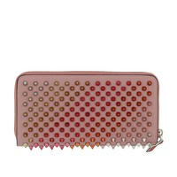 Christian Louboutin Women's 1185063P221 Pink Leather Wallet