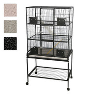 A&E Cage Company 3 Level Small Animal Cage with Removable Base