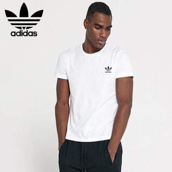 new adidas mens shirt sleeve t shirt 100 cotton top