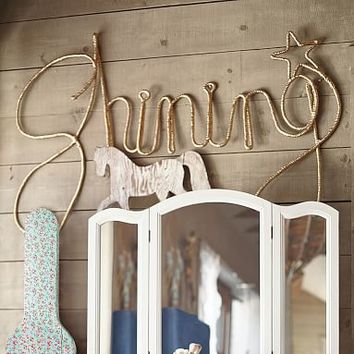 Junk Gypsy Shining Star Wall Art