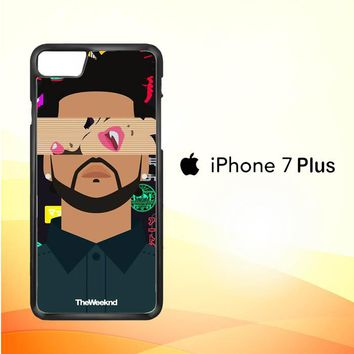 the weeknd xo WALLPAPER Y0841 iPhone 7 Plus Case