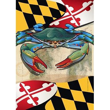 Maryland Blue Crab / House Flag