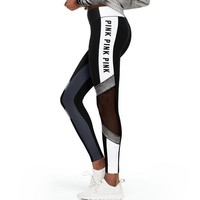 One-nice™ PINK Victoria's Secret Women Fashion Yoga Sport Legging Pants Trousers Sweatpants