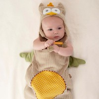 My Little Night Owl Baby Snuggle Sack & Cap by Baby Aspen - Personalize It!