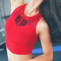 tank top sleeveless yoga clothes red sport fitness top white workout train vest running shirt