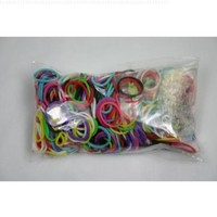 Rainbow Loom Refill Bands Mixed Colors