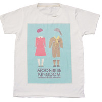 Moonrise Kingdom T shirt graphic unisex tee shirt top