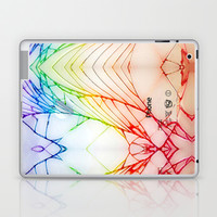 Broken, rupture, damaged, cracked out apple iPhone 4 4s 5 5s 5c, ipod, ipad, pillow case and tshirt Laptop & iPad Skin by Three Second