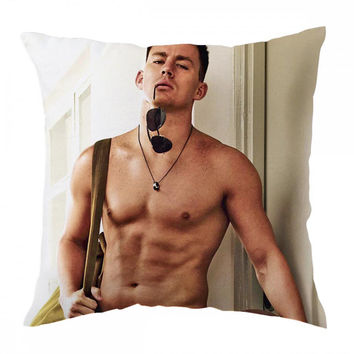 Hottest Channing Tatum Pillow Cover