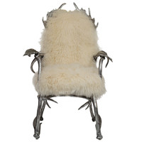 Arthur Court Antler Chair