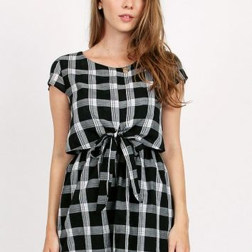 Amelie Checkered Dress