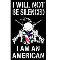 I AM AN AMERICAN Decal
