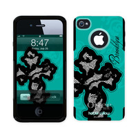 iPhone 4 & 5 Otterbox Commuter Custom Phone by HarperWillowDesigns
