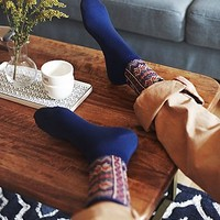 Free People Womens French Quarter Crew Sock