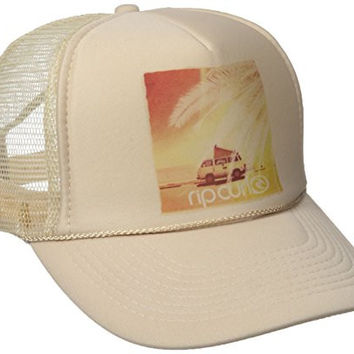 Rip Curl Junior's Secret Spot Trucket Hat, Yellow, One Size