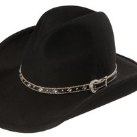 Scala concho band wool cowboy hat - Sheplers