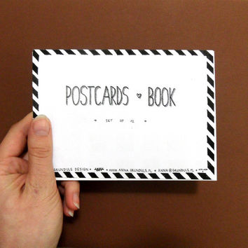 Postcards Book