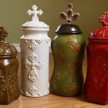 Retro Ceramic Canisters