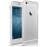 iPhone 6 Plus Case,ES Global®, iPhone 6 Plus (5.5 inch) Case [0.3mm Ultra Clear] Soft Flexible Extremely Thin Gel TPU Transparent Skin Scratch-Proof Case for iPhone 6 Plus (5.5 inch)