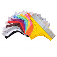 Cotton Solid Color Thong Panties FREE SHIPPING!!!