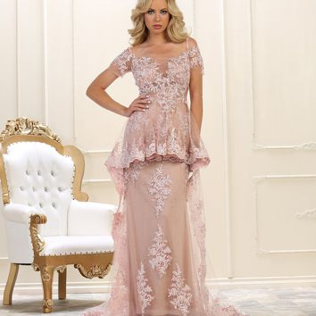 Formal Long Evening Gown Prom Dress
