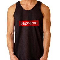 Supreme Logo For Mens Tank Top ***