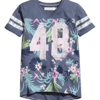 H&M T-shirt with Printed Design $14.95