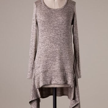 Gone with the Wind Tunic - Taupe
