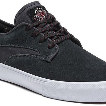 Lakai Shoes Riley Hawk x Indy Collab - Charcoal Suede