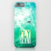 Fly Away - for iphone iPhone & iPod Case by Simone Morana Cyla