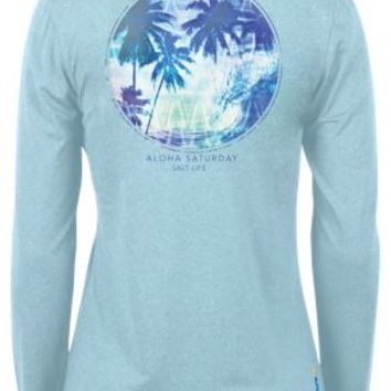 Salt Life Aloha Saturday SLX UVapor Performance Long-Sleeve Shirt for Ladies | Bass Pro Shops