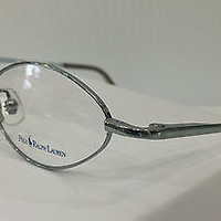 NEW AUTHENTIC POLO RALPH LAUREN 384 COL CY9 GREEN METAL KIDS EYEGLASSES FRAME